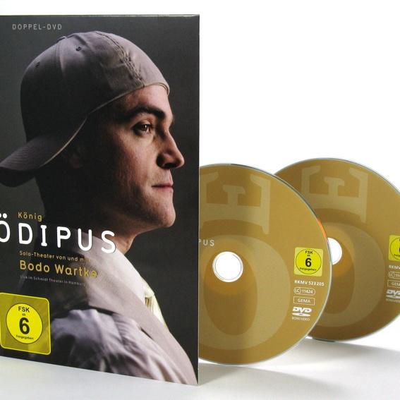 Bodo Wartke - König Ödipus - Doppel-DVD (handsigniert)