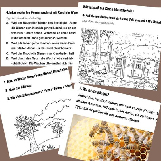1 Mappe Bienenrätsel-Spaß (CC-Lizenz)