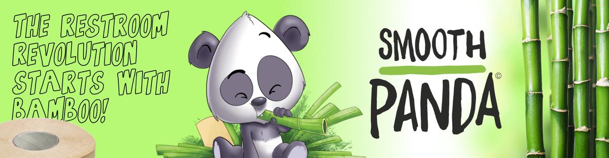 Smooth Panda | Bambus-Toilettenpapier (sanft zum Po & zur Natur)