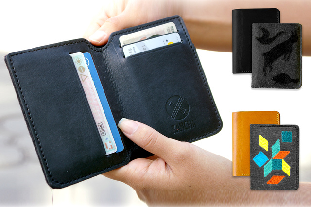 Design Wallets aus Kirgistan