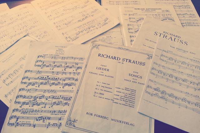 Richard Strauss - Ein Leben in Liedern - CD-Produktion