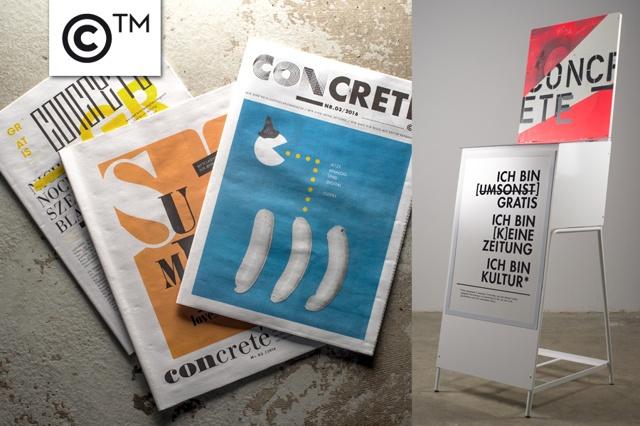 Concrete - Zeitungskästen & Produktionskosten