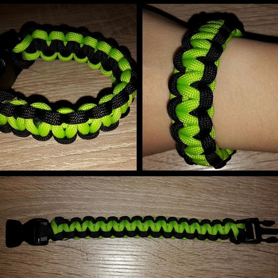 Fan Package Nr. 1 - CD mit Paracord Armband