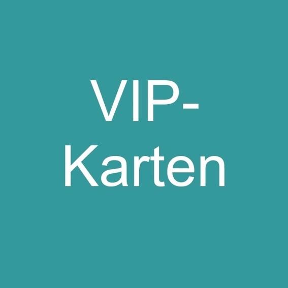 2 x VIP-Eintrittskarten + 2 Getränke für eine Veranstaltung