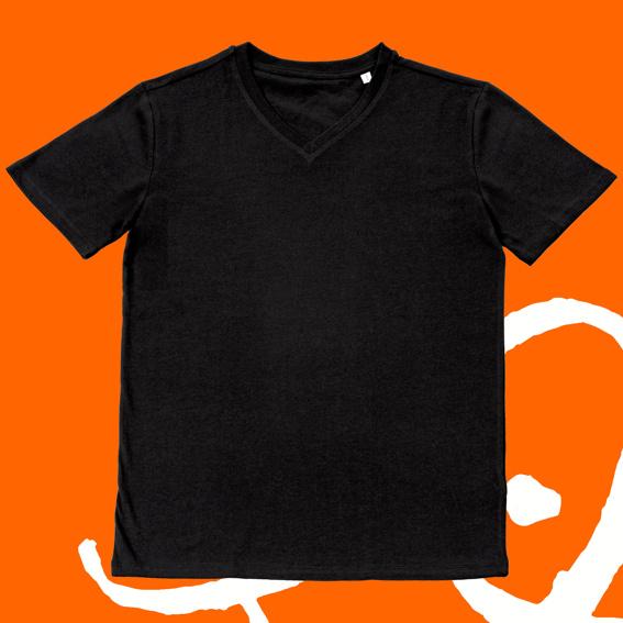 1x T-Shirt Unisex schwarz