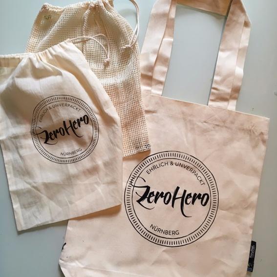 Zero Waste Starterpaket Taschen