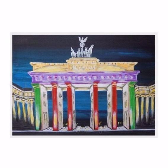 Schreibtischunterlage Brandenburger Tor