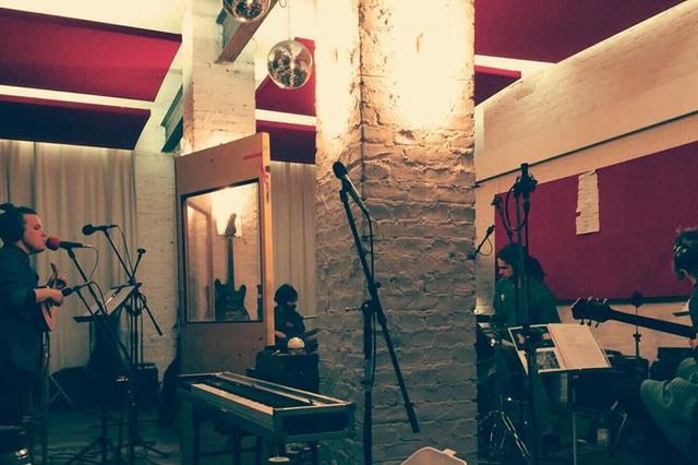Story Telling Fishes - Produktion des Debutalbums