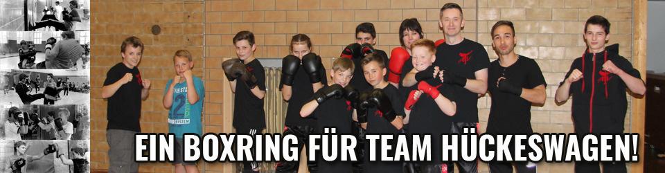 Ein Boxring für Team Hückeswagen