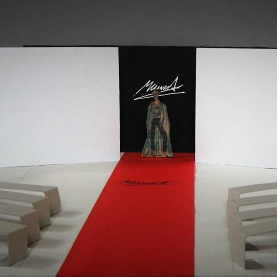 Einladung zur Modenschau