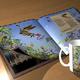 Buch mit Deinem Portrait als Ritter auf einem Drachen + Tasse mit Deinem Ritterportrait