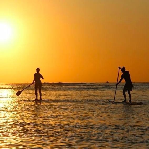 3 x Surfer-Postkarte (im Instagram Style)