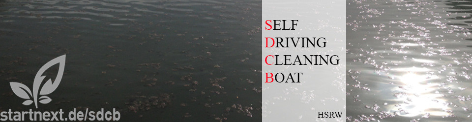 Self-Driving Cleaning Boat