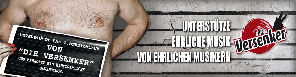 """Produktion und Promotion des 2. Studioalbums von """"Die Versenker"""""""