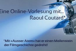 Eine Online- Vorlesung mit dem Kameramann Raoul Coutard
