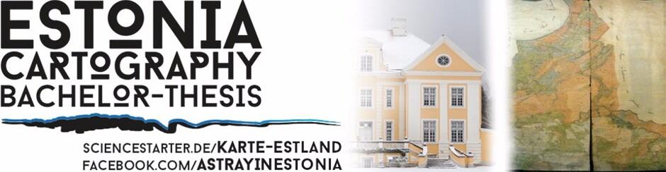 Palmse/Estland - Eine Landschafts- und Kartenanalyse