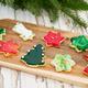 selbstgebackene Weihnachtskekse