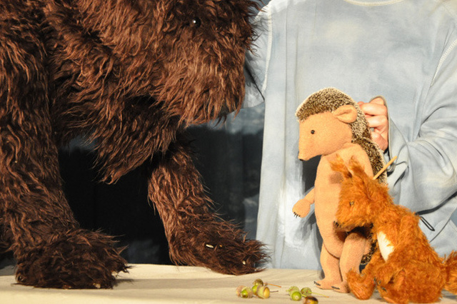 Herr Eichhorn und der erste Schnee - Kindertheaterinszenierung