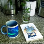 Tasse + Taschenbuch