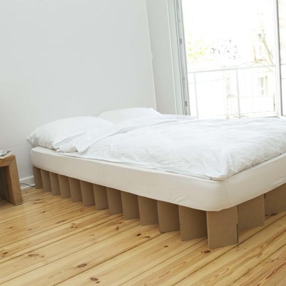 Bett 20 cm hoch