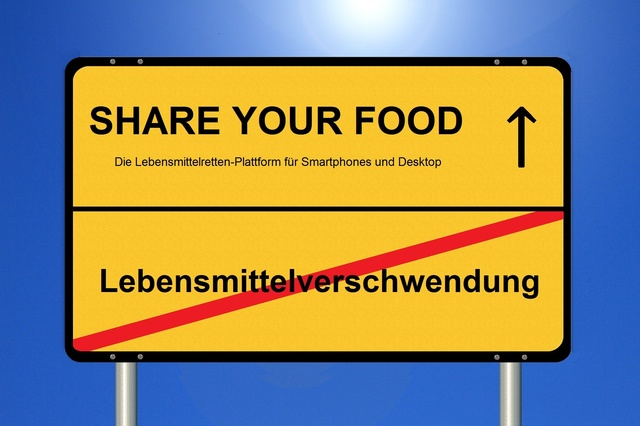 SHARE YOUR FOOD - Die Lebensmittelretten-App