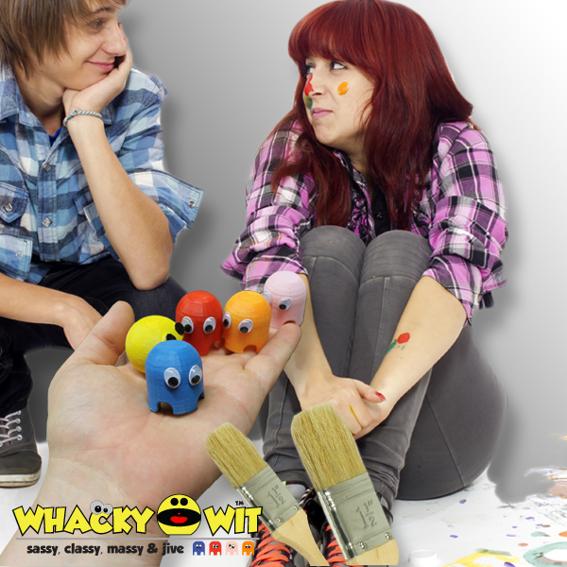 #6: Whacky-Wit Spielbrett als Bausatz