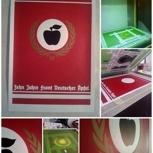 """Jubiläums Plakat  """"10 Jahre Front Deutscher Äpfel"""""""