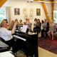 Teilnahme an einer Chorprobe
