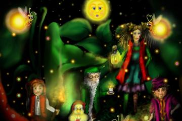 Zauber-Märchen von und mit Monique Sonnenschein