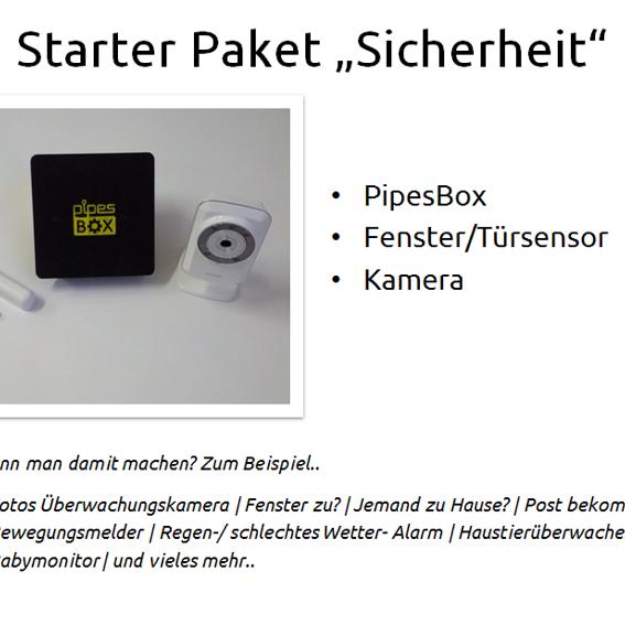 """PipesBox + Starterpaket """"Sicherheit"""""""