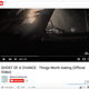 Dein Lieblings-Ghost of a Chance-Song auf Video