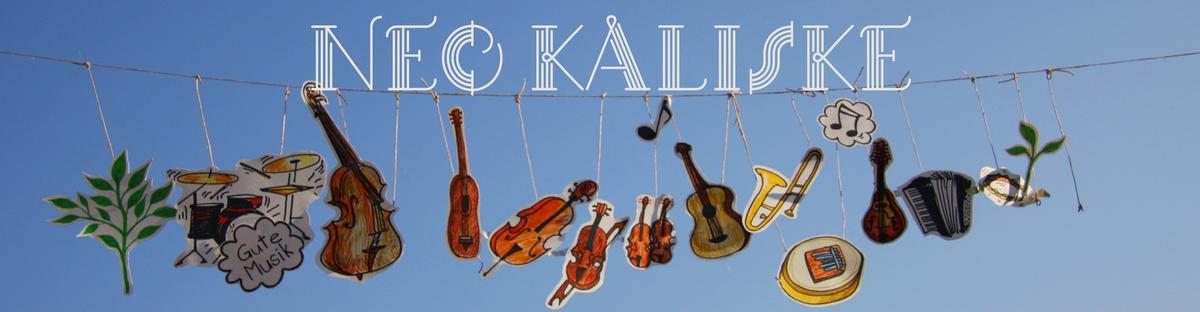 Neo Kaliske - das Debütalbum