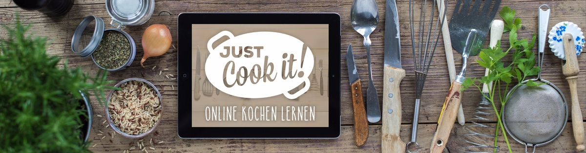 just cook it! - online kochen lernen