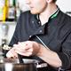 Kochjacke mit Logo