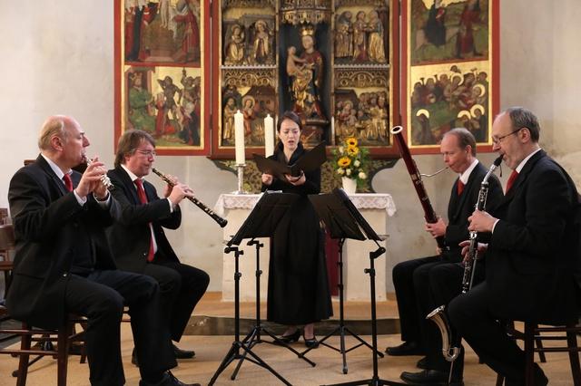 Ein Altar wird Musik