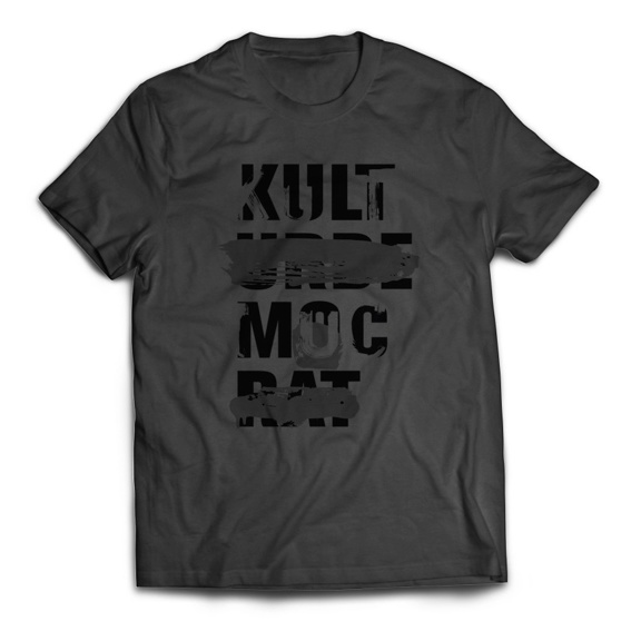 """T-Shirts """"KULTURDEMUCRAT"""" CONCRETE"""