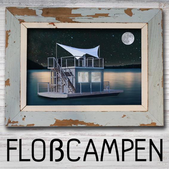 Floßcampen für 2 Personen - Inari Night - Eure Nacht auf dem Saunafloß