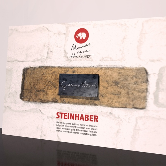 """1 Stein + Mitgliedschaft """"STEINHABER-CLUB"""""""