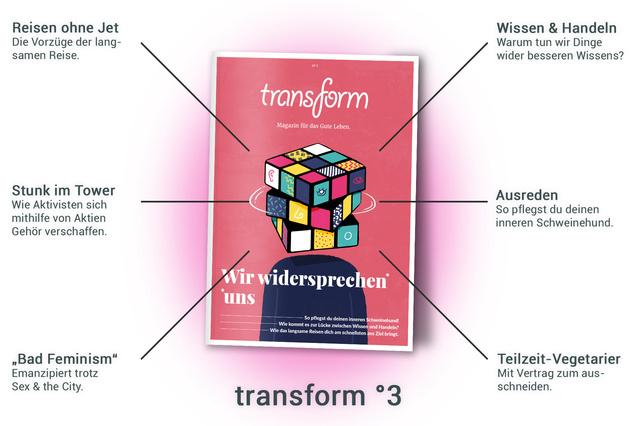 transform drei - Wir widersprechen uns