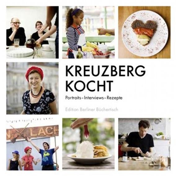 """Büchertischbuch """"Kreuzberg kocht"""" mit Widmung"""