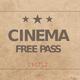 Kinokarte Filmvorführung Hamburg