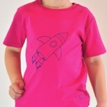 Raketen-Shirt