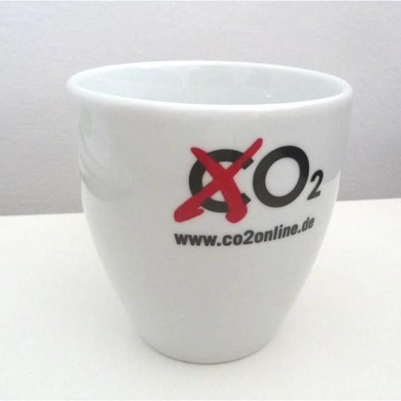 """""""Kein CO2""""-Tasse"""