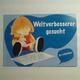 DANKE - PÄCKCHEN - Autogrammkarte - Einladung Buchlesung