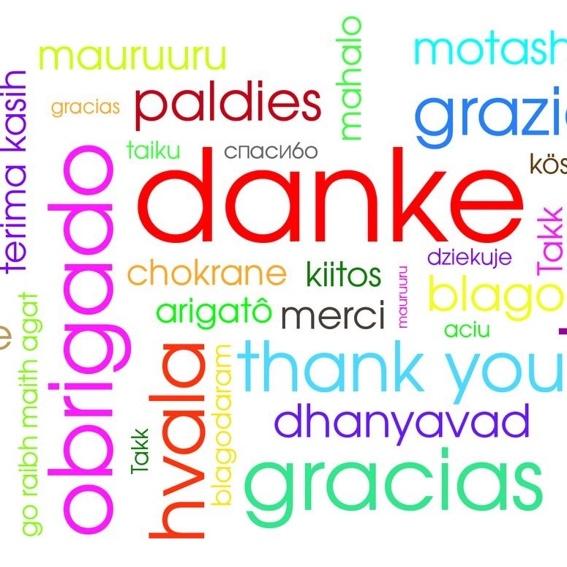 Wir bedanken und im Geiste bei euch.