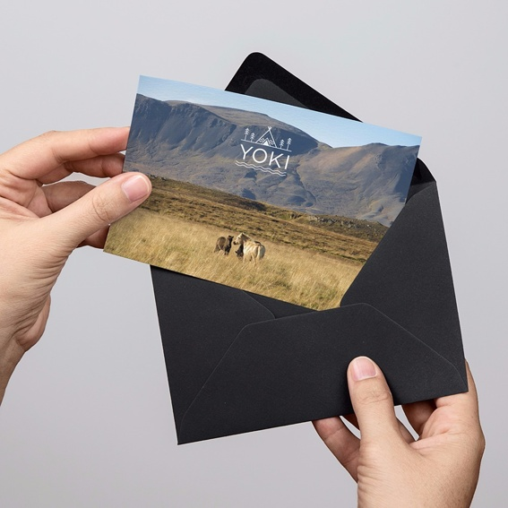 YOKI Postkarte