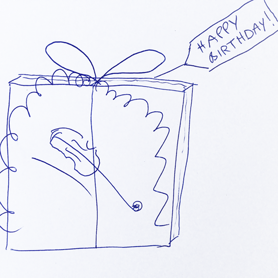 for givers: gift-wrapped CD