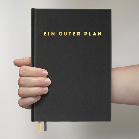 Ein guter Plan: 2. Auflage - Schwarz