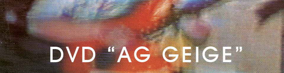 """DVD Produktion """"AG GEIGE"""""""