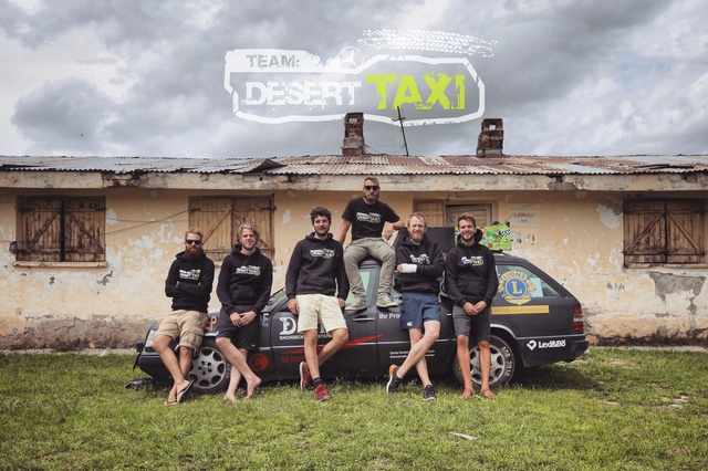 Team Desert Taxi - Rally with social impact